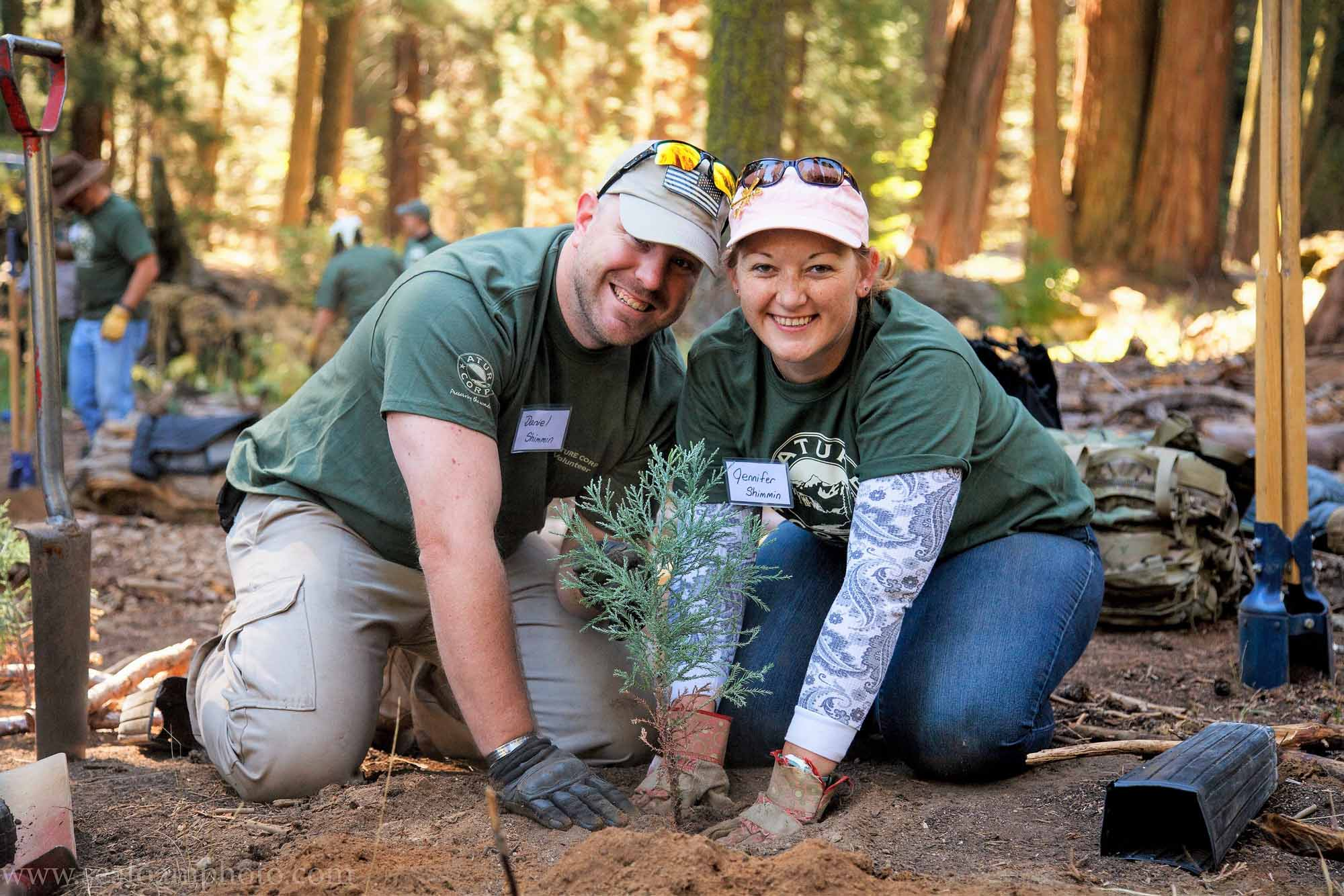 Nature Corps Volun tour in Sequoia National Park-N