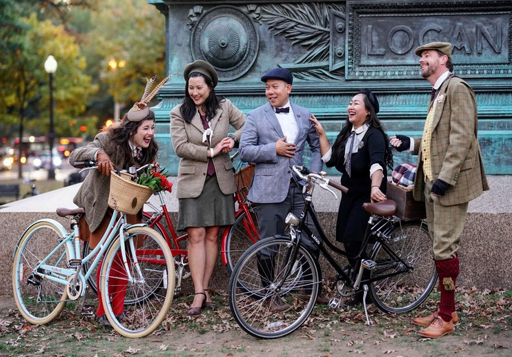 Tweed Riders in Washington, D.C.