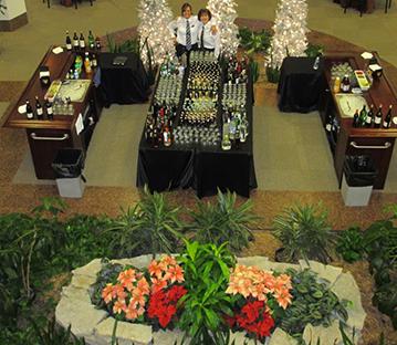 Ask us about outdoor event catering!