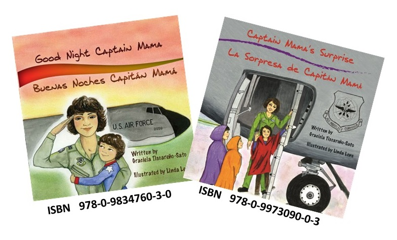 Bilingual Captain Mama books with ISBN
