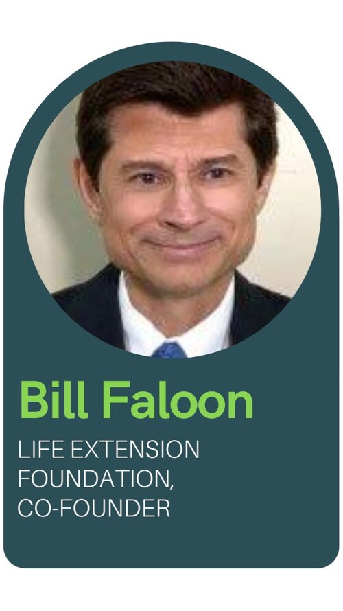 Bill Faloon CoFounder of Life Extension Foundation