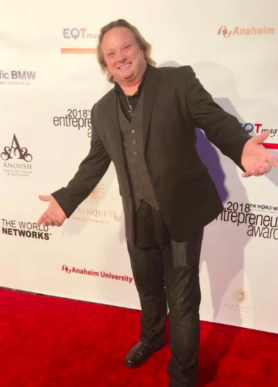 Brett Hunt 2018 Entrepreneurs Awards Red Carpet Arrivals