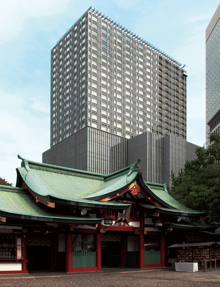 Capitol Tokyu Exterior With Hie Shrine
