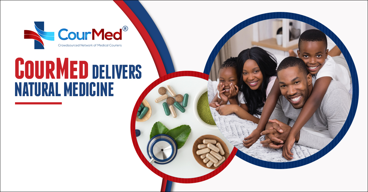 CourMed Delivers Natural Medicine