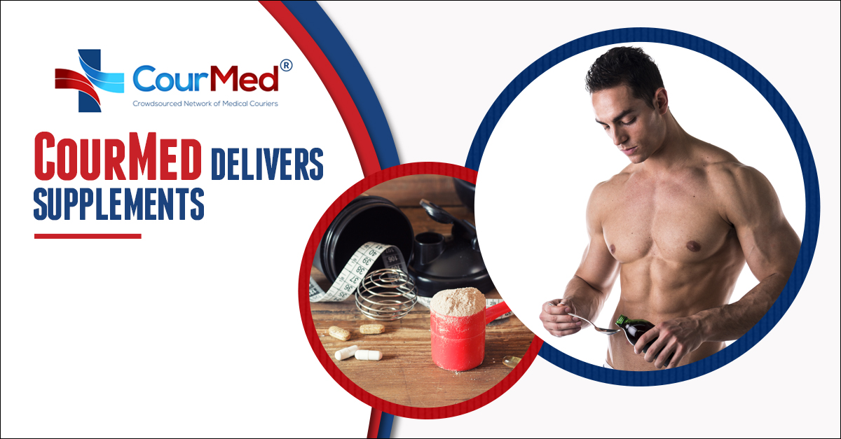 CourMed Delivers Supplements