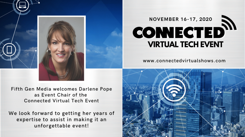 Darlene Pope to Chair the Connected Virtual Show