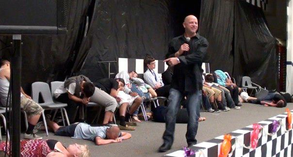 Don Barnhart's Hypnomania Comedy Hypnosis Show On Tour