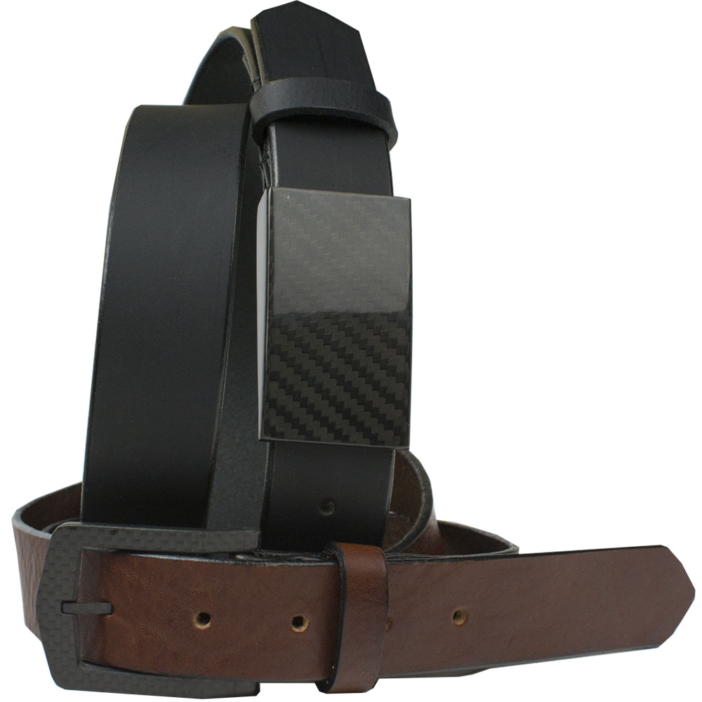 EZ Traveler Belt Set - CF 2.0 Black plus The Stealth Brown Belt
