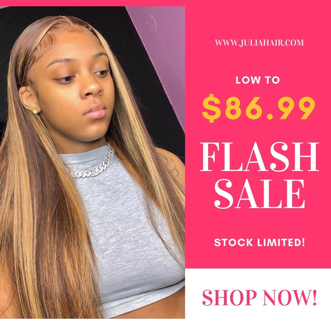Flash Sale Honey Blonde Wigs