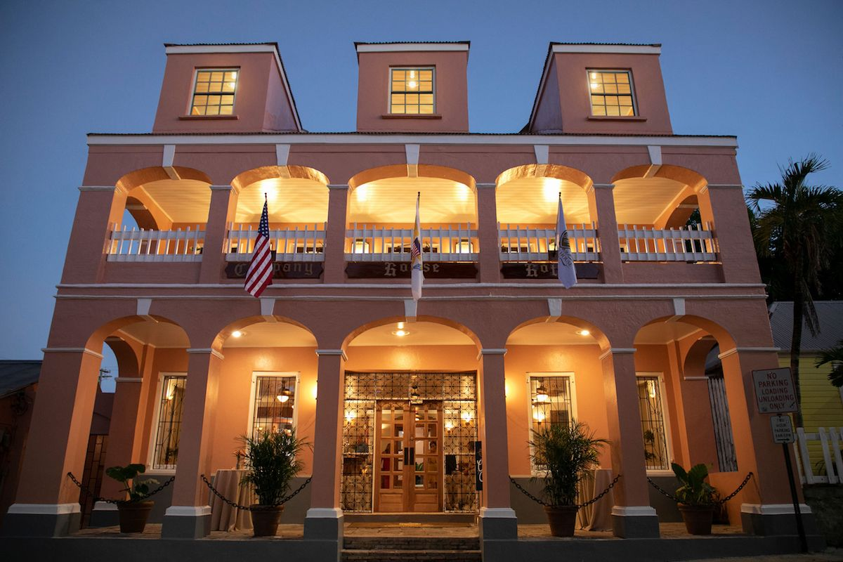 Front of Company House Hotel St. Croix photo by Kelly Greer