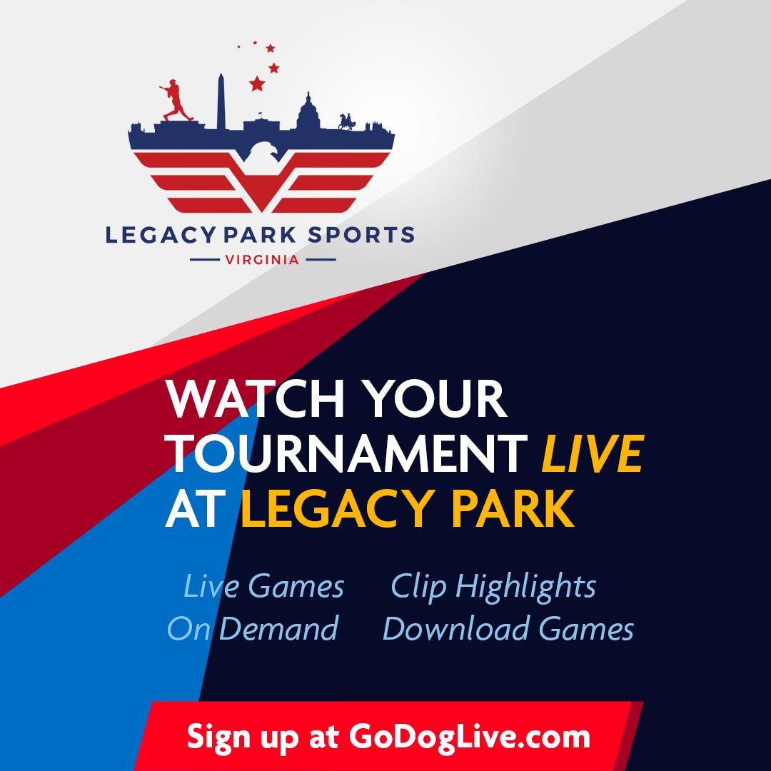 Legacy Park Sports Launches Godog Gamestream To Live Stream Base Wboc Tv 16 Delmarvas News Leader Fox 21