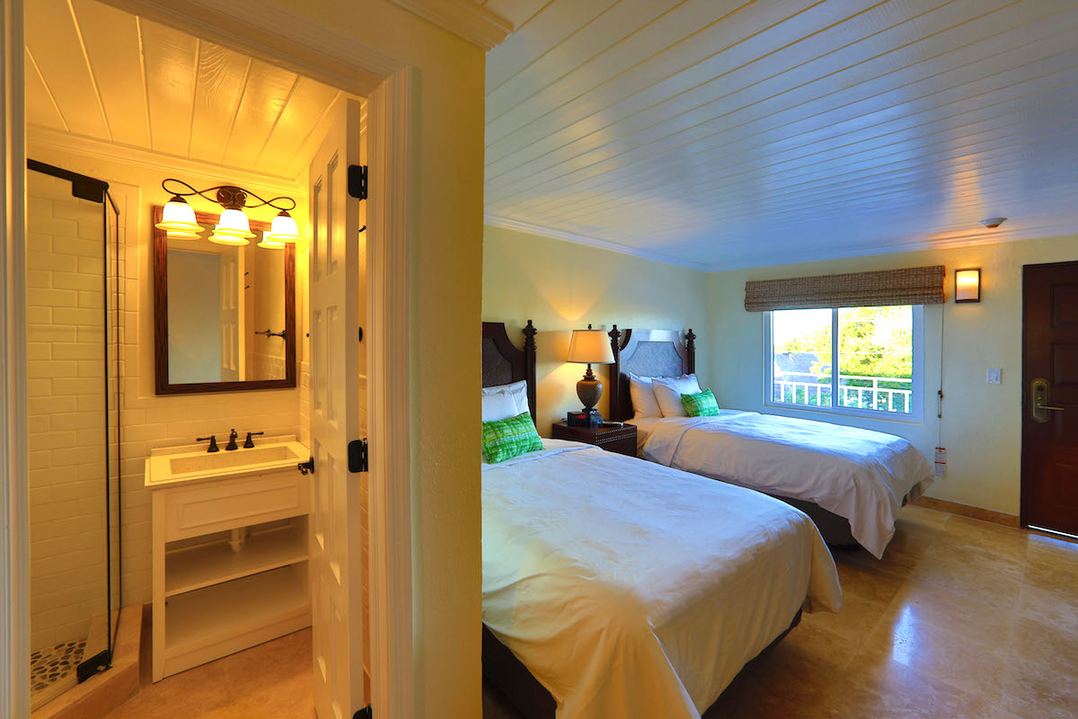 Guest room at Company House Hotel St. Croix photo by Kelly Greer
