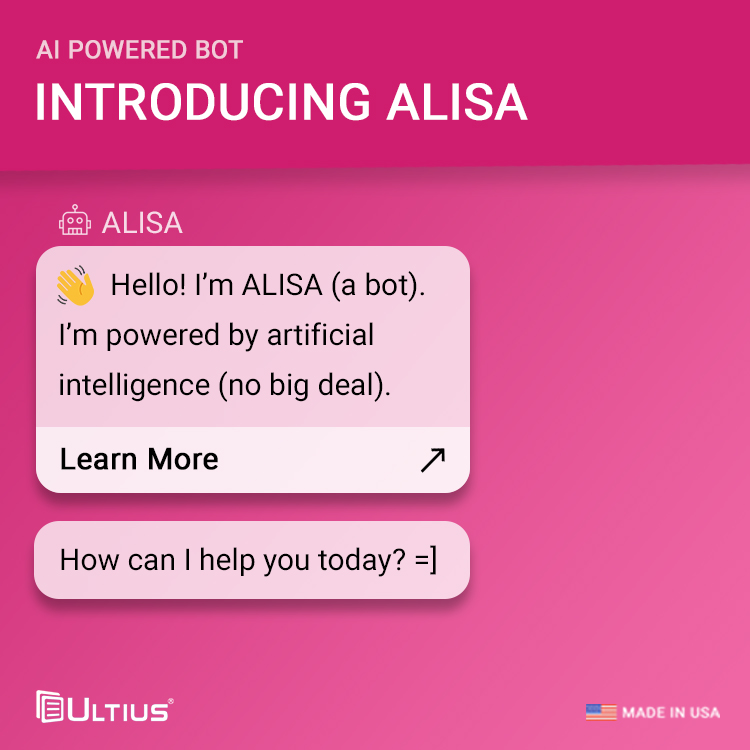 Introducing ALISA: the new Ultius AI powered bot