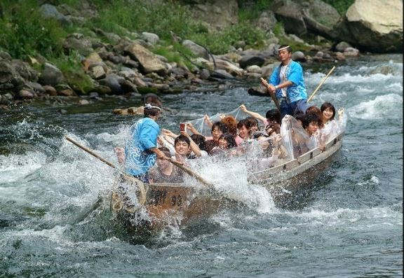 Kinugawa River Traditional Boat Ride