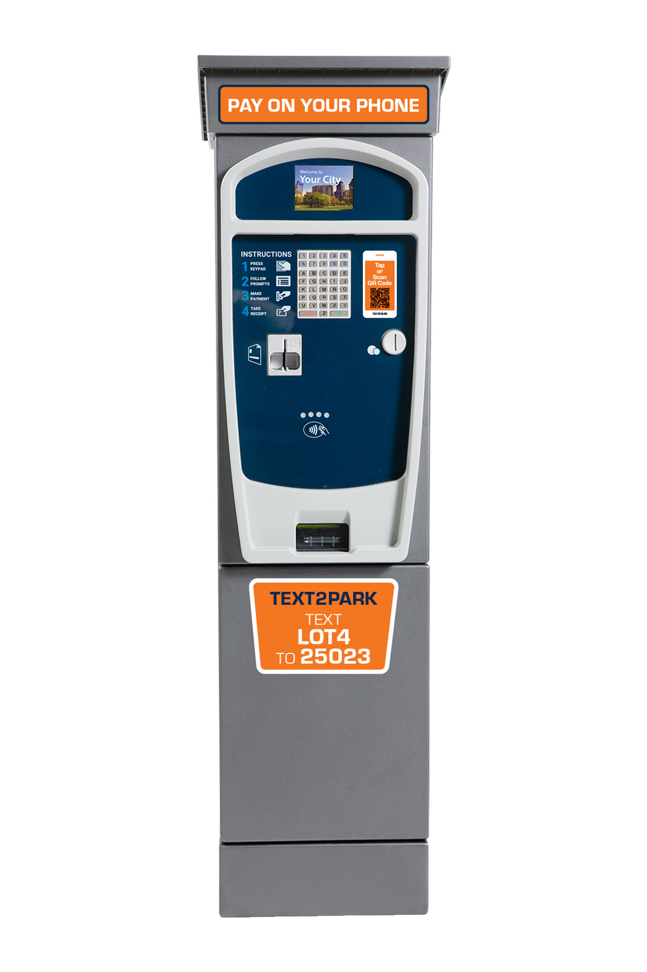 Luke Cosmo MobilePay station Powered By TEXT2PARK