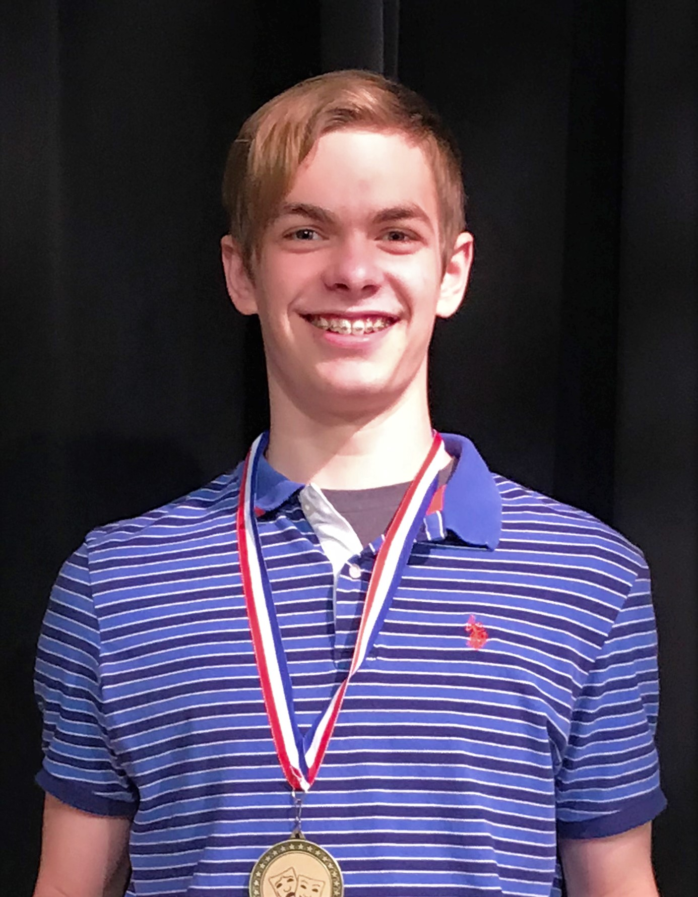 Matthew Grigoratos, 1st Place Winner, 2019 Shakespeare Competition, KC Branch