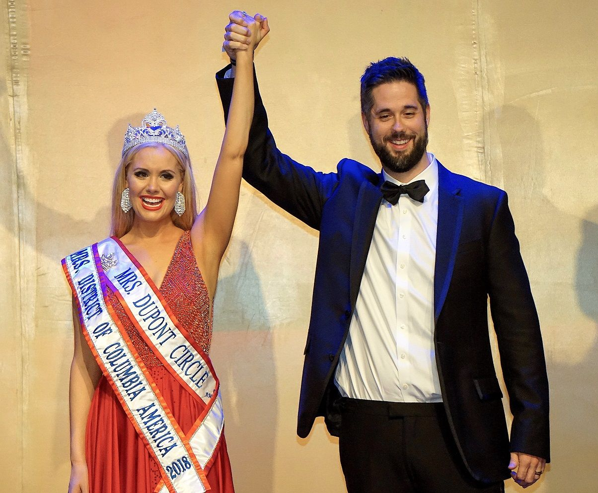 Mrs DC America Leiah Rocheleau and Husband Jay