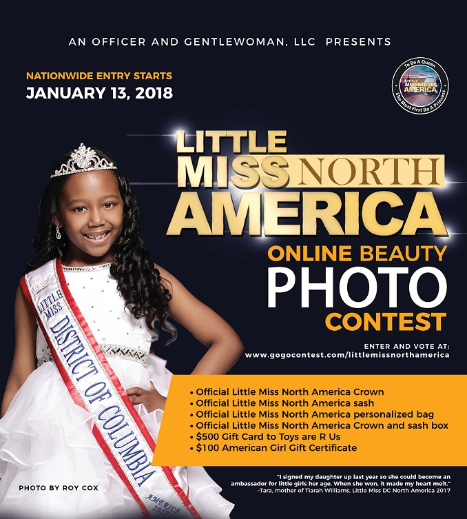 Nationwide search is on for Little Miss North America 2018