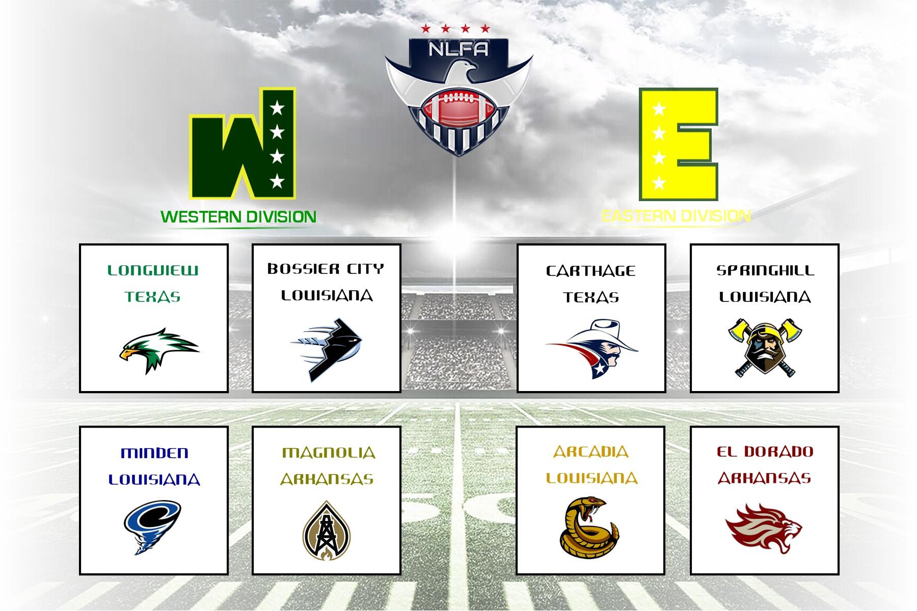 New Semi-Pro Football League Announces Team Names and Logos