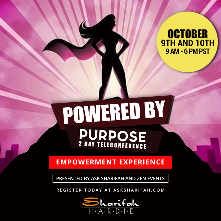 Powered By Purpose 2 Day Teleconference