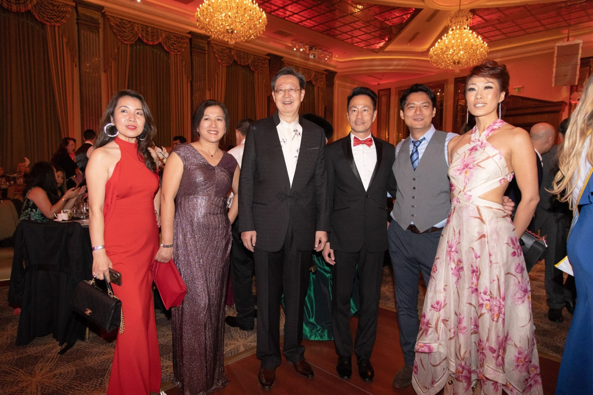 President Robert Sun with VIP and Celebrity guests at 3rd Hollywood China Night