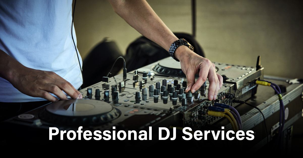 Professional DJ for your event