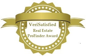 Real Estate Profinder Verisatisfied Award For Real