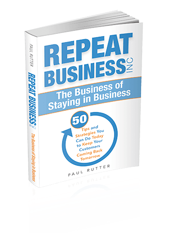 Repeat Business Inc by Paul Rutter