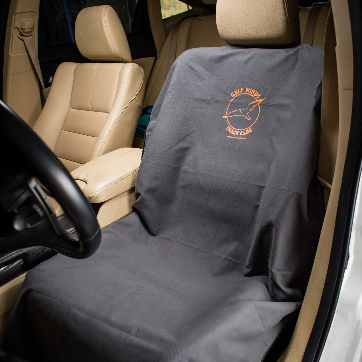 Runs Done Custom Logo Towel Car Seat Cover