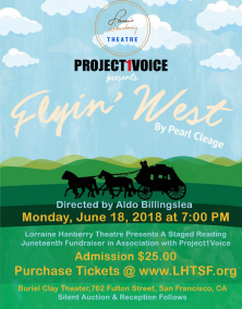San Francisco Bay Area Staged Reading of Flyin' West by Pearl Cleage