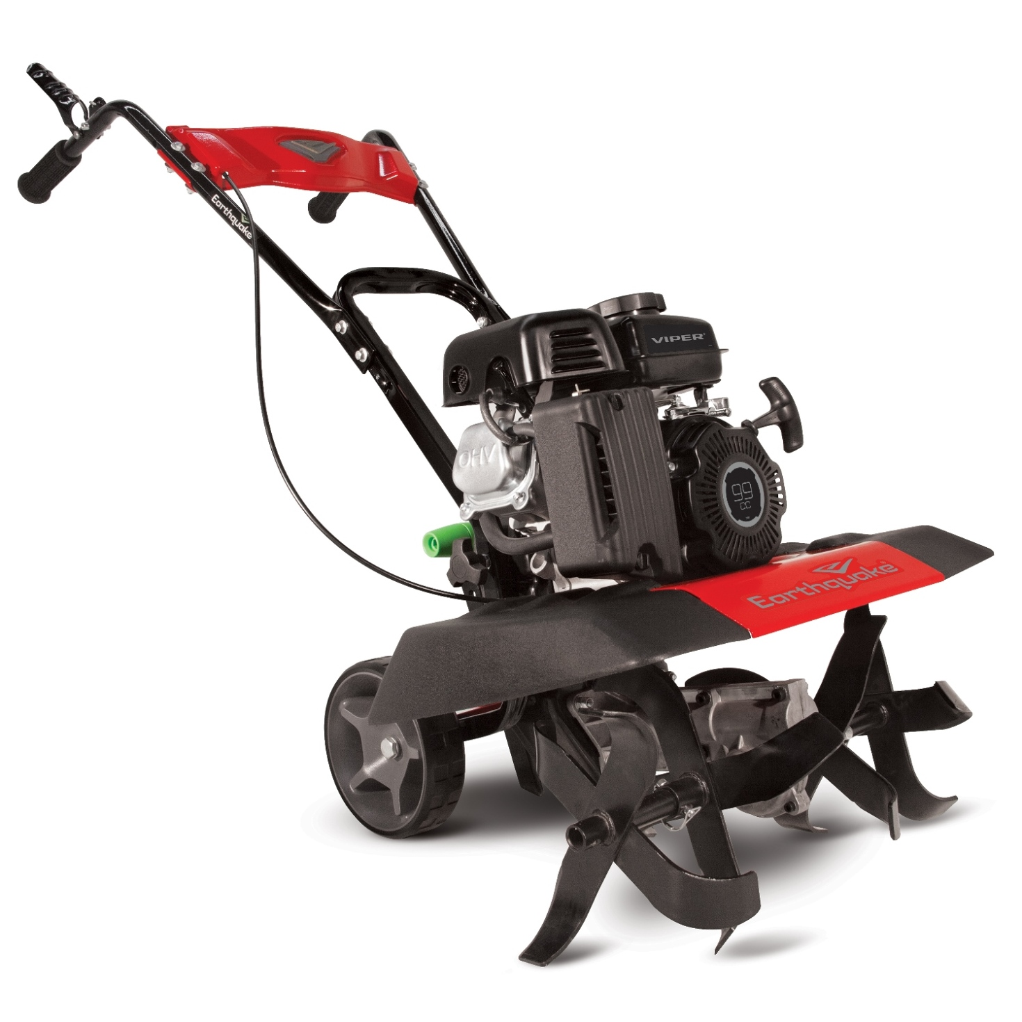 The Earthquake VERSA Tiller Cultivator is backed by a 5-year warranty