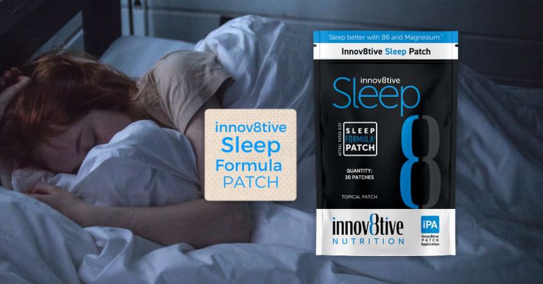 The Innov8tive SLEEP Patch for GREAT sleep