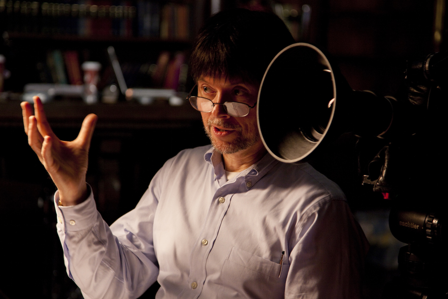 The prize is named in honor of Ken Burns, one of America's best known filmmakers