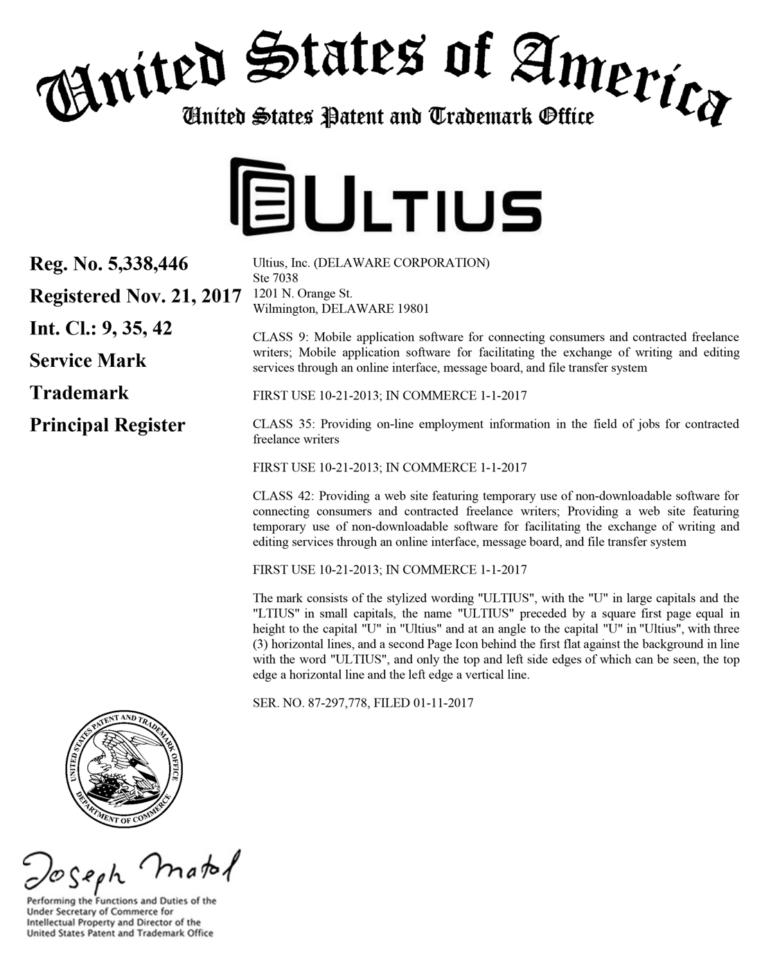 Ultius Acquires New Federal Trademarks Cbs News 8 San Diego Ca