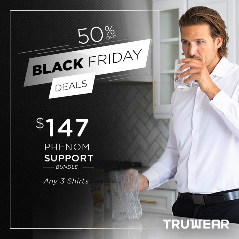 TRUWEAR's Black Friday Phenom Support Bundle