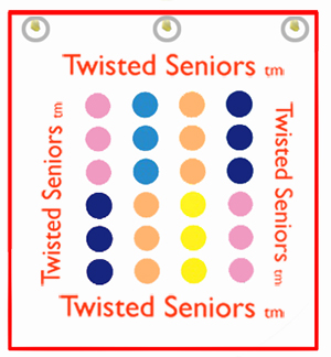 Twisted Seniors tm Logo