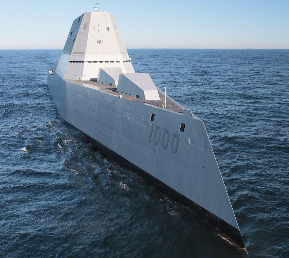 USS Zumwalt - World's Largest Warship