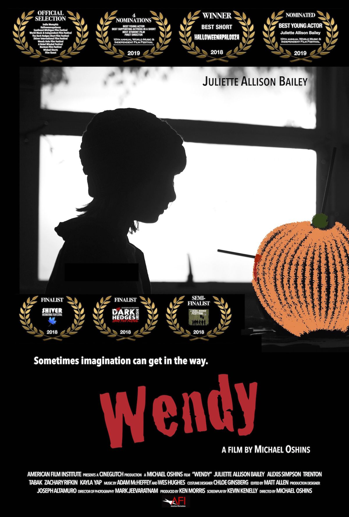 """WENDY"" movie poster"